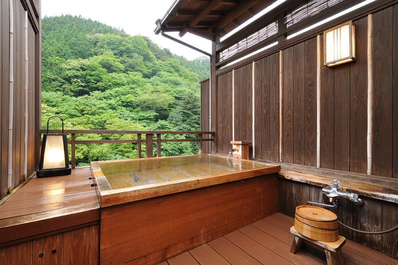 【桐】桧の露天風呂付き客室メイン画像