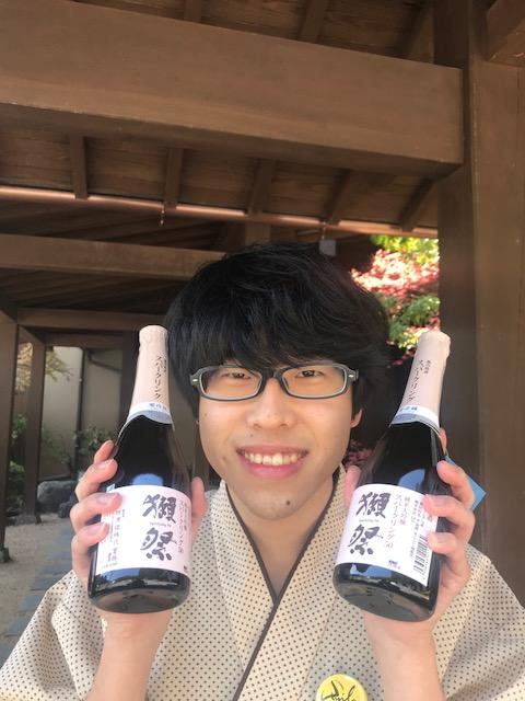 獺祭純米大吟醸スパークリング発売開始