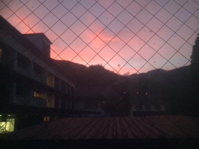 四万の夕陽