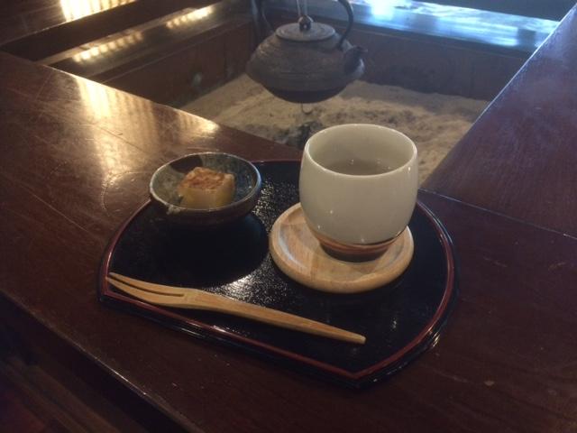 秋のお茶菓子