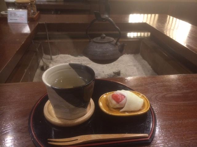 冬のお茶菓子