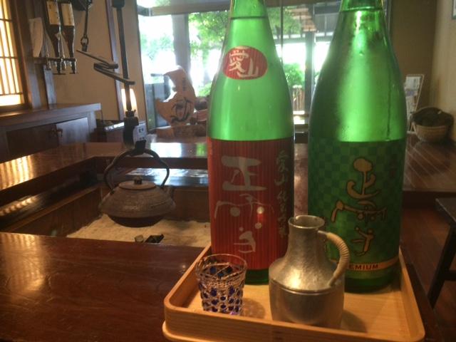 初夏の日本酒