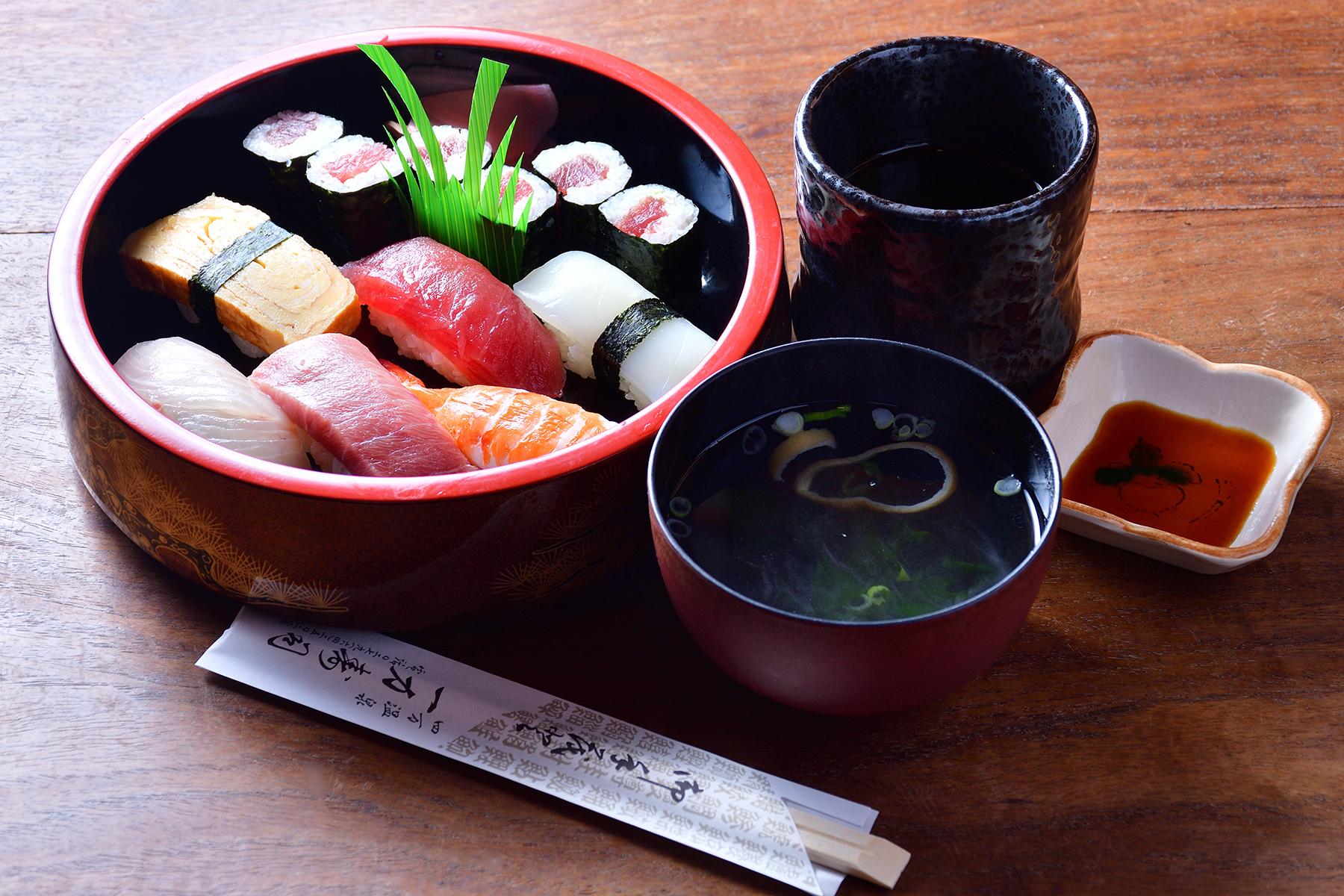 海なし県で絶品寿司