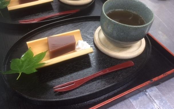 初夏のお茶菓子